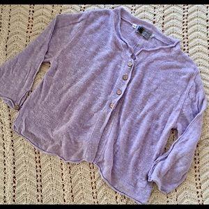 Habitat linen Cotton Cardigan Sweater XL
